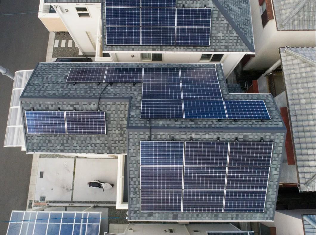 太陽光発電システム 羽曳野市 K様
